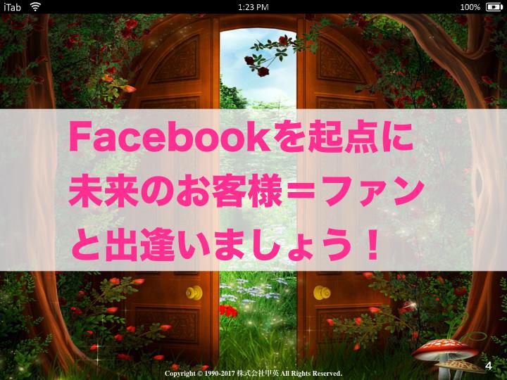 集まる集客Facebookファンメイクトレーニング.004