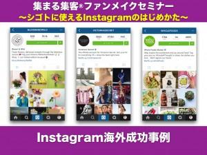 Instagram海外成功事例